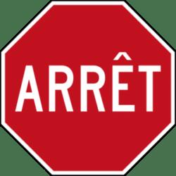 Arrêt